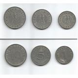 Colección 3 Monedas De Alemania Nazi