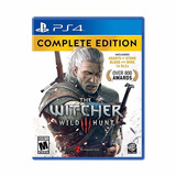 The Witcher Complete Edition Ps4 Fisico Sellado Gamebox