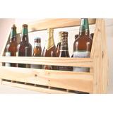 Engradado Caixote De Madeira Para 12 Cervejas Personalizado