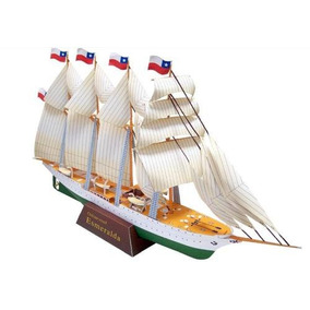 Barco Chileno Esmeralda Navio Pesca Mar Porto Oceano