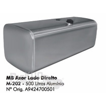 Tanque De Combustível Alumínio Mb Axor Lado Direito 500 Litr