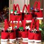 1/2/4/8/10pcs Navidad Santa Bragas Presente Navidad Dulce