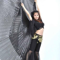 Alas Danza Arabe Grande De Lamè Negro