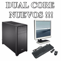 Computadora Intel Dual Core 2gb Disco 320gb Monitor 19 Gopc