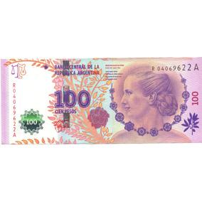 100 Pesos - Eva Perón - Reposición - Bottero 4311