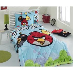 Jogo De Cama (sono) Angry Birds Ab-04 (jogo De Sono) Licenci