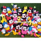 Pelucias Disney( Mickey/minnie Rosa/ Minnie Vermelha/pateta