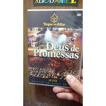 Dvd Toque No Altar - Deus De Promessas - Original E Lacrado!