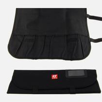 Bolsa Tecido Para 7 Facas Roll-bag Preta Zwilling