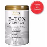 Bo-tox Capilar 1kg Hidrata E Reduz Volume - O Melhor Do Ml
