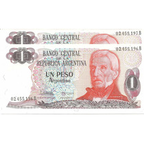 Lote 2 Billetes 1 Peso Argentino Bottero 2605 S/circ Palermo
