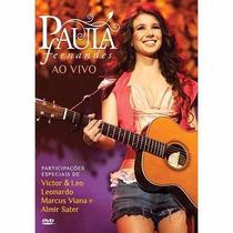 Paula Fernandes Dvd Show Ao Vivo (novo, Original E Lacrado)
