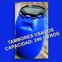 Tambores Plásticos Usados 240lts En Prefecto Estado Capital
