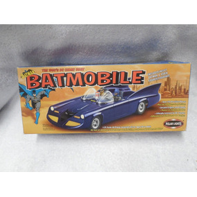 Batmobile 1/24 Polar Lights 1960 Batman Batimobil C/figuras