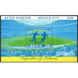 Libéria - Copa Do Mundo - México 1970 - Bloco