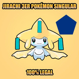El Pokémon Singular Jirachi Evento Especial Gf Pentagono