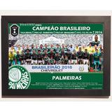 Quadro Poster Palmeiras Campeão Brasileiro 2016 Eneacampeão