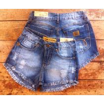 Kit Com 2 Shorts Femininos Várias Marcas