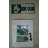 Botiquin Primeros Auxilios Metálico - Dotado 28 X 22 X 10