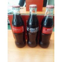 Botella De Coca Cola 1,2 Y 3 Convencion Internacional