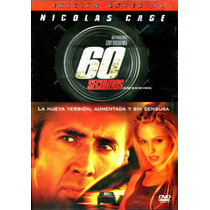 Dvd 60 Segundos ( Gone In 60 Seconds ) 2000 - Dominic Sena