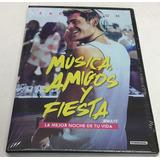 Dvd Música Amigos Y Fiesta Zac Efron Nuevo Original