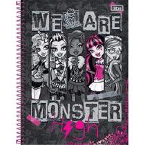 Caderno Universitário Monster High 10 X 1 - 200fls - Tilibra