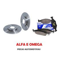 Kit Disco+pastilha Freio Dianteiro Fiesta 1.0 / Ford Ka 96/