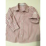 Camisa Social Loja Babies Barra Shopping 12/18 Meses