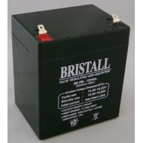 Bateria Recargable Bristall 12v 4ah Para Alarmas, Ups, Etc.