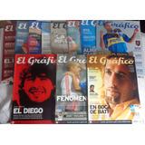 Revista El Gráfico Futebol Lote Com 55 Unidades