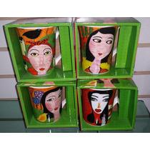 Taza Cuadros Pintura Arte Ceramica !!!! 12 Oz Caja De Regalo