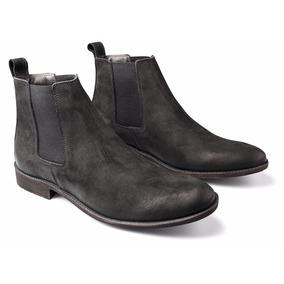 Bota Masculina Chelsea Boots Botina Em Couro Legítimo Luxo