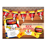 Kit Imprimible Personalizado Kick Buttowski Candy Bar