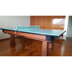 Mesa De Pool Y Ping Pong Profesional