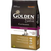 Ração Golden Gatos Castrados 10,1kg Frango