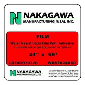 Película Para Inyeccion De Tinta Autoadherible Nakagawa