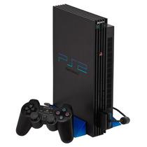 Playstation 2 Fat Destravado Hd 80gb Completo