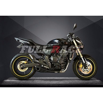 Escapamento Honda Hornet Willy Made 2008-2014 - Full 4x2x1
