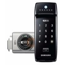 Fechadura Digital Samsung Shs2320 Porta De Correr Deslizante