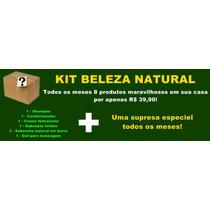 Kit Cosméticos Beleza Natural
