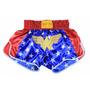 Bermuda, Short, Calção Muay Thai Kick Boxe Super Heróis