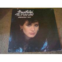 Disco Acetato De Beatriz Adriana Arrepentida Y Sola
