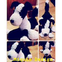 Border Collie Amigurumi En Crochet