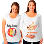 Remeras Personalizadas Embarazadas Baby Shower