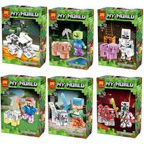 Juguete Lego Armable Minecraf Super Heroes Comiquita Ninjago
