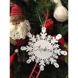Bambalina Navidad Escarchada