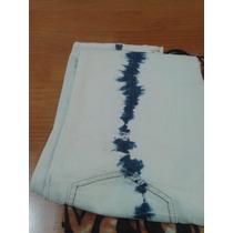 Sarkany Jean Talle M Muy Buen Estado Color Crudo Y Batik