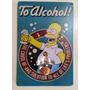 Abridor De Garrafas Com Placa De Metal Simpsons