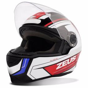 Capacete Zeus Helmets 811 Evo Plasma Black Red